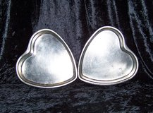 "2 Medium 8"" HEART CAKE PANS (Matching Set) in Alamogordo, New Mexico"