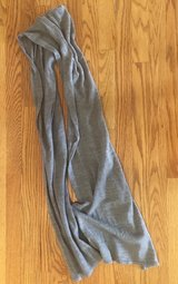 Long Gray Scarf in Plainfield, Illinois