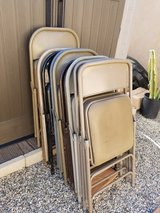 Folding chairs in 29 Palms, California