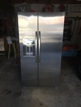KitchenAid 24.8-cu ft Side-by-Side Refrigerator with Ice Maker (Stainless Steel) ENERGY STAR in Kingwood, Texas