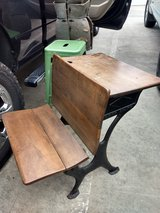 Antique School Desk in Conroe, Texas