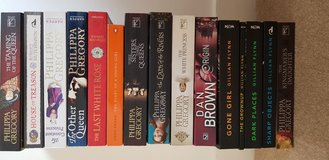Bundle of books - Philippa Gregory, Gillian Flynn etc, fiction in Lakenheath, UK