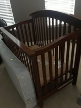 Essentials by Baby Cache Bliss Curved top Crib Chestnut in Yorkville, Illinois