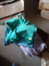 BOX OF MISC. YARDS OF FABRIC in 29 Palms, California