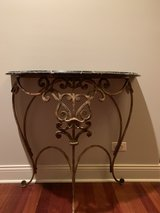 console table w/ marble top in Naperville, Illinois