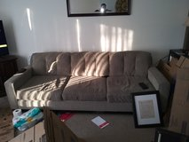 3 seat couch in Yorkville, Illinois