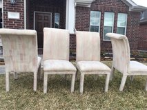 4 Parsons Chairs in Kingwood, Texas