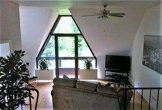 TLA 4 BR Apt, Ramstein, 5min from RAB with balcony, bbq and garden views & Air-Con in Ramstein, Germany