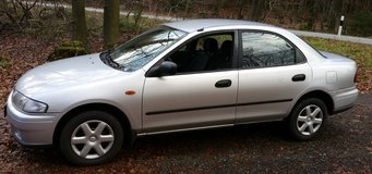 Mazda 323, very nice car, already inspected in Ramstein, Germany