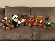 Stuffed Animals - Lands' End Authentic Rugby Bears (by Gund) in Aurora, Illinois