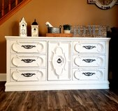Refinished Buffet / dresser/ TV Console in Naperville, Illinois