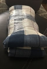 Stripped twin sheet set in Chicago, Illinois