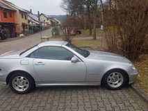 2001 230 SLK Hard top convertible in Ramstein, Germany