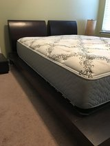 Queen bed and nightstands in Warner Robins, Georgia