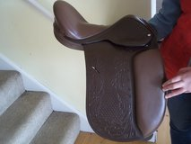 Leather Saddle in Lakenheath, UK