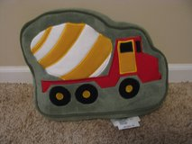 Cement Mixer Pillow in Chicago, Illinois