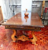 Massive Solid Wood Spanish Table 280cm, by 97 cm Closed 165 cm in Ramstein, Germany