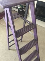 Purple wooden ladder in Warner Robins, Georgia