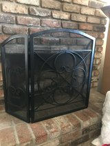 Metal fireplace guard in Travis AFB, California