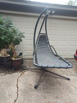 Sling lounger hanging chair in Kingwood, Texas
