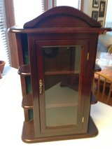 Wall/Table top Curio Cabinet in Westmont, Illinois