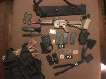 Huge Airsoft Bundle including SRC SR4 RIS Dragon Series Airsoft AEG in Tomball, Texas