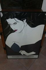 Patrick Nagel The Playboy Portfolio II Vintage Framed Print in Plainfield, Illinois