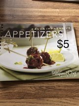Pampered Chef appetizer cookbook in Lockport, Illinois