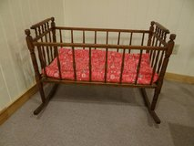 Antique CRADLE -  LARGE  would hold twins! in Conroe, Texas