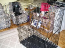 LARGE COLLAPSIBLE PET CAGE in Naperville, Illinois