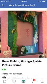 Vintage Barbie Picture Frame 2 in Leesville, Louisiana