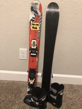 Child's ski and boots in Travis AFB, California