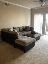 sofa and ottoman for sale in Travis AFB, California