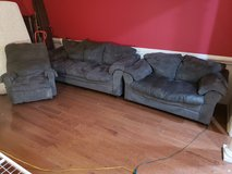 Couch Set With Recliner! in Warner Robins, Georgia