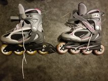 Roller blades size 8 womens in Fort Leonard Wood, Missouri