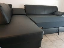 L-Couch + Bed-Function  + Delivery included!! in Ramstein, Germany