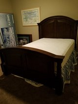 Queen bed with mattress and box springs in Nellis AFB, Nevada