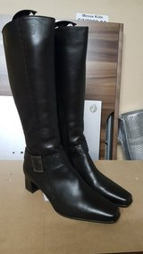 Leather Boots Brown new in Ramstein, Germany