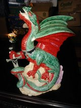 Ceramic Dragon and sword in Warner Robins, Georgia