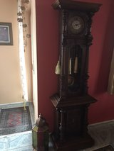 German grandfather clock in Ansbach, Germany