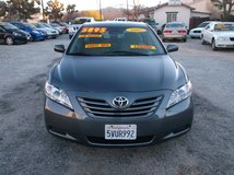 "2007 TOYOTA CAMRY 4CLY AUTO "" 30MPG HWY "" LOADED "" ONLY 128K MILES ON IT .....$5895 in 29 Palms, California"