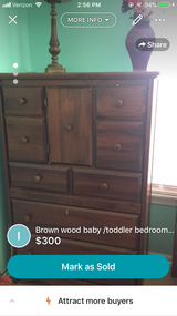 Baby/toddler bedroom set in Lockport, Illinois