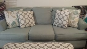 Sofa and ottoman in Fort Campbell, Kentucky
