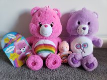 New Care Bears Plush Lot plus DVD in Fort Campbell, Kentucky