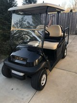 Golf cart tires & rims & chrome cover in Camp Lejeune, North Carolina