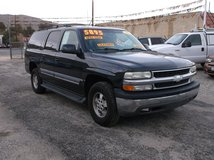 """2003 CHEVROLET SUBURBAN 1500 LT """" ONE OWNER """" LOW MILES """" LEATHER FULLY LOADED """" ... $5895 in 29 Palms, California"""