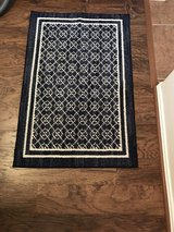 Navy & Cream Rug in Pasadena, Texas