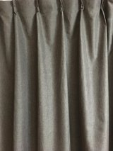 curtains (145cmX160X 2 piece) included hooks in Okinawa, Japan