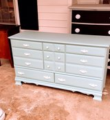 antique solid maple chalk painted dresser in Cherry Point, North Carolina