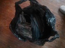 Bag of Jean and twill material in Chicago, Illinois